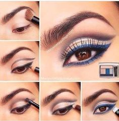 Step by Step Nails, Dresses, Make up, Hair Styles and more Tutorials - http://www.1pic4u.com/blog/2014/11/13/step-by-step-nails-dresses-make-up-hair-styles-and-more-tutorials-385/
