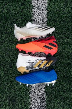 Ready for takeoff 🛫. The @adidasfootball Inflight Pack, featuring X Ghosted and new can't-miss colors for Predator, Copa and Nemeziz. Tap to shop 📲. — #soccerdotcom #adidasfootball #xghosted #nemeziz #predator