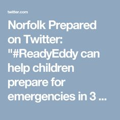Personal Safety, Fire Safety, Emergency Preparedness, Norfolk, Booklet, Twitter, Advice, Website, Children