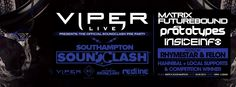 SOTONIGHT | Viper pres. Soundclash DNB Pre Party w/ Matrix & Futurebound, The Prototypes - http://www.sotonight.net/event-tickets/viper-pres-soundclash-dnb-pre-party-w-matrix-futurebound-the-prototypes/  Viper Presents – Soundclash Drum N Bass Pre Party Matrix & Futurbound, The Prototypes, Inside Info, Hannibal, Felon & Rhymestar BUY TICKETS