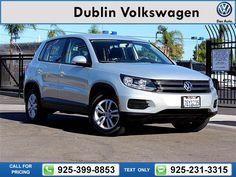 2014 Volkswagen Tiguan S 48k miles $17,900 48760 miles 925-399-8853 Transmission: Automatic  #Volkswagen #Tiguan #used #cars #DublinVolkswagen #Dublin #CA #tapcars