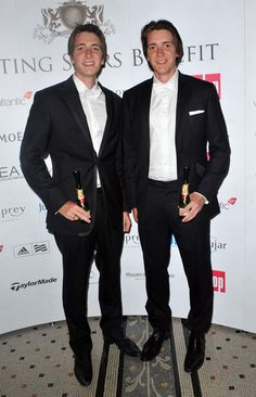 James Phelps and Oliver Phelps Photo - FitFlop Shooting Stars Benefit - Closing ball