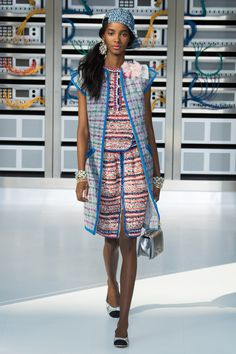 Chanel spring-summer 2017 ready-to-wear collection, available at Galeries Lafayette Paris.