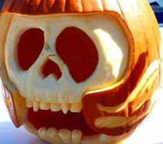 10 crazy jack-o'-lanterns to expand your pumpkin horizons A Pumpkin, Pumpkin Carving, Seattle News, Creative Pumpkins, Holiday Games, Halloween Pumpkins, Halloween Stuff, Cool Stuff, Skull