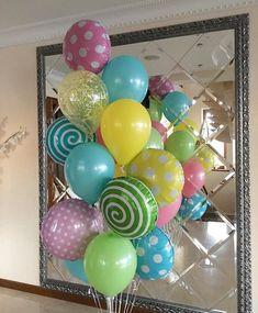 Композиции - фонтаны Balloon Arrangements, Balloon Decorations, Birthday Decorations, Balloon Ideas, Balloon Bouquet, Balloon Arch, Wedding Balloons, Birthday Balloons, It's Your Birthday