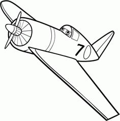 how to draw skipper, skipper from disney planes step 5