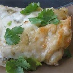 Spinach Enchiladas Verde - Allrecipes.com