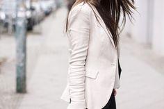 White Blazer. <3 by liz