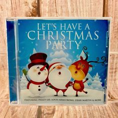 Christmas CD Lets Have a Christmas Party 20 Tracks Holiday Xmas Gifts Santa for sale online Cds For Sale, Christmas Items, Xmas Gifts, Santa, Let It Be, Holiday, Ebay, Vacations, Xmas Presents