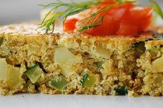 Dr. Jamie Koufman's Vegetable Frittata With Quinoa Spread