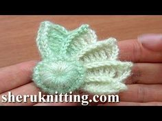 ▶ Crochet 3D Wing How to Crochet Tutorial 10 Part 1 of 2 Crochet Element - YouTube