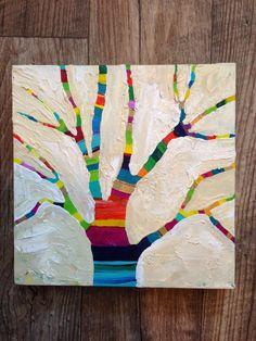 MaryLea Harris Art: New Series: Happy Little Trees