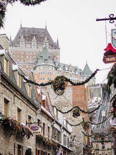 Winter Travel Guide - Quebec City