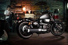 Voor 2014 introduceert Yamaha de nieuwe XV950 en XV950R modellen