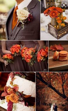 Gone are the days where weddings and wedding receptions mean securing the reception hall at one's local church that is around the corner. Fall Wedding Decorations, Fall Wedding Colors, Autumn Wedding, Wedding Color Schemes, October Wedding Colors, Thanksgiving Wedding, Maroon Wedding, Our Wedding, Wedding Venues