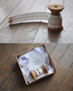 I know this is a calendar, but I'm going to do this with my measuring tape. I just bought a couple of faux spools and think it would be sweet to wrap my measuring tape around it!