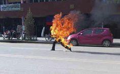 China: joven tibetano murió tras prenderse fuego como medida de protesta
