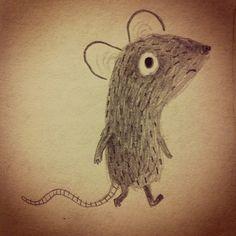 groeneinkt:  Sad mouse.