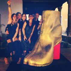 Here we are !!! Big Tabi Boot!!! #margiela #519verona #staff #love #friends #life