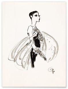 For Geoffrey Beene 2 | Gladys Perint Palmer #Illustration