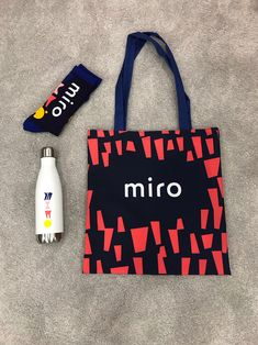Brand New: New Logo and Identity for Miro by Vruchtvlees - Graphic Hit Corporate Identity, Brand Identity, Logo Branding, Packaging Design, Branding Design, Logo Design, Gift Logo, Collateral Design, Clothing Logo