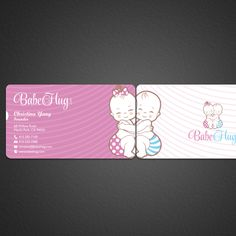 Business Card for a modern young children