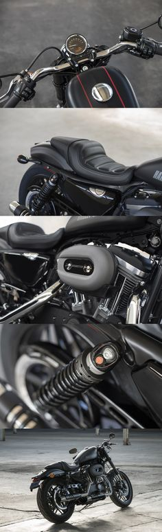 A powerful new level of sport. | Harley-Davidson 2016 #DarkCustom Roadster.