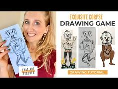 Drawing Games, Drawing Lessons, Art Lessons, Middle School Art, Art School, School Ideas, High School Art Projects, Cool Art Projects, High School Drawing
