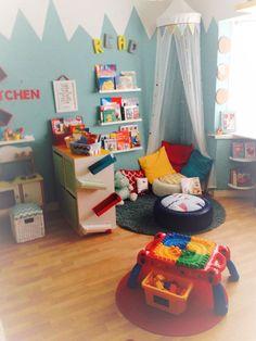 Whimsical Playroom! #KidSpace