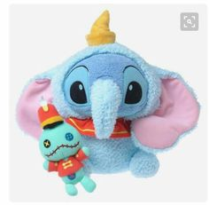 Stitch as Dumbo! So cute ❤