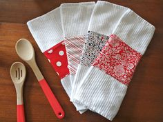 Personalized dish towels