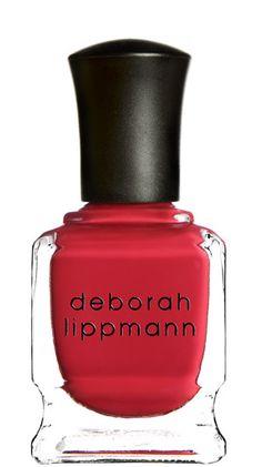 DEBORAH LIPPMANN  'IT'S RAINING MEN'  (timeless Parisian red)