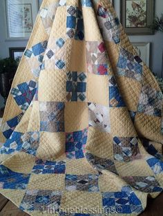 Vintage Antique Quilt 1920s 1930s Rich And Magnificent Quilts