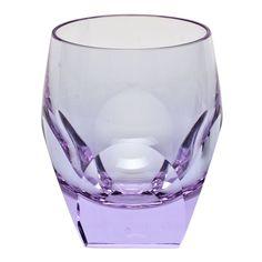 Crystal Highball Cocktail Glasses , Alexandrite