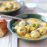 Double Chicken Dumpling Stoup | http://www.rachaelraymag.com/recipes/rachael-ray-magazine-recipe-search/rachael-ray-30-minute-meals/Double-Chicken-Dumpling-Stoup?sssdmh=dm17.589967=nwdr041412=4050810082