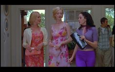 Fashion in Film : Jawbreaker (1999) Rose McGowan, Julie Benz, Judy Greer