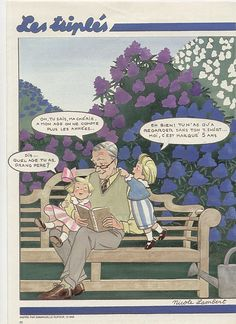 HUMOUR - Les TRIPLES JOUENT - for more inspiration visit http://pinterest.com/franpestel/boards/