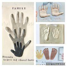 Handmade Baby, Etsy Handmade, Custom Baby Gifts, Footprint Art, Thing 1, Baby Memories, Baby Keepsake, Baby Prints, Pinterest Board