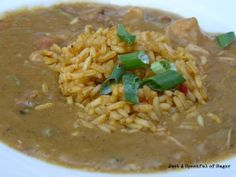 Disneyland Gumbo recipe - Blue Bayou / Cafe Orleans, was very good but I would use about half the chicken broth!