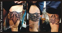 Maori tattoo by Doris Tattoo Israel