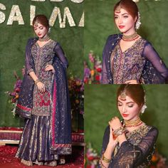 Awesome Clicks of Gorgeous Kinza Hashmi at Salman Faisal Wedding Indian Dress Up, Pakistani Fancy Dresses, Indian Bridesmaid Dresses, Pakistani Fashion Party Wear, Indian Wedding Gowns, Pakistani Wedding Outfits, Indian Party Wear, Pakistani Dress Design, Indian Gowns
