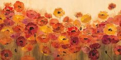Summer Poppies Art Print at AllPosters.com
