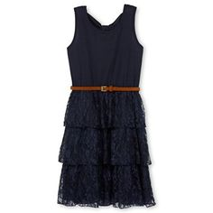 Outfit for play? Disorderly Kids® Tiered Lace Dress - Girls 6-16 - jcpenney $20