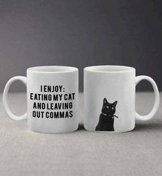 47 Gifts For Friends Who Work For The Grammar Police Good Grammar, Grammar Humor, Police Humor, A Writer's Life, Word Nerd, Write It Down, I Love To Laugh, Funny Mugs, Are You The One