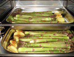 Spargel kochen im Dampfgarer - So wird Ihr Spargel schonend gegart und behält sein fantastisches Aroma.
