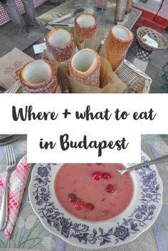 Budapest Restaurants | Traditional Hungarian Food