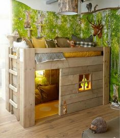 Bunk house for kids
