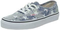 Vans Authentic Women US 8 Blue Sneakers >>> You can get additional details at the image link.