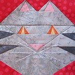 Quilt Inspiration: Free pattern day: Cat and Dog quilts!