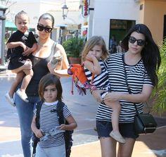 North West Photos - Kim Kardashian Takes North To The Movies - Zimbio